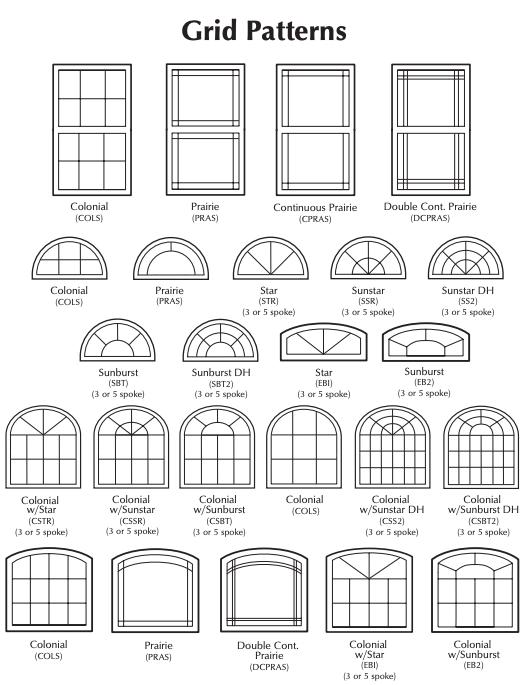 NT Windows Grid Patterns