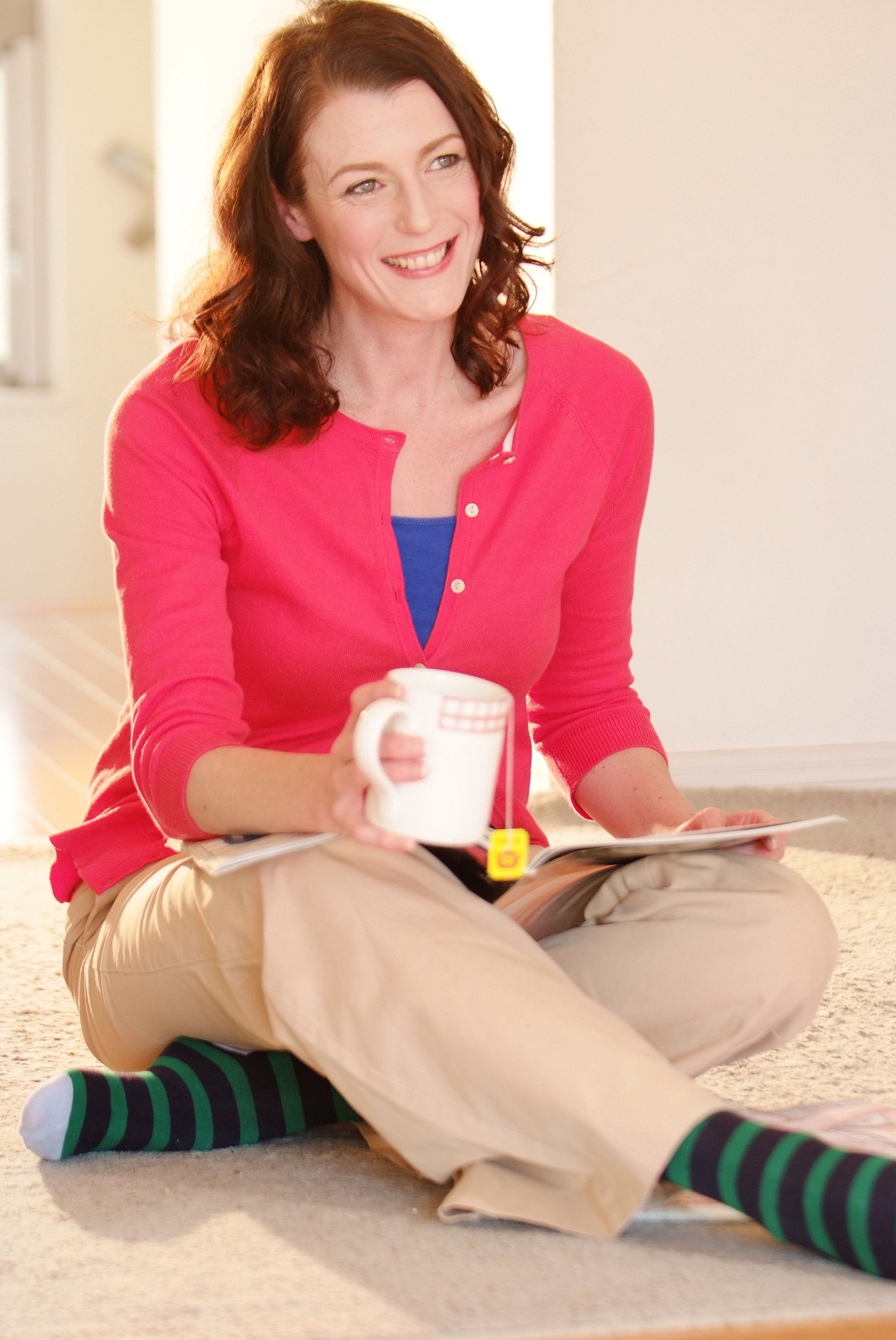 PP mother mag n tea coral blue beige socks.jpeg