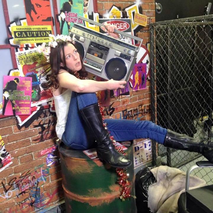Boho ghetto blaster chick youtube studio.jpg