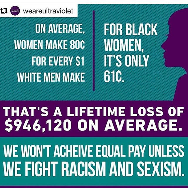 Today is #blackwomensequalpayday