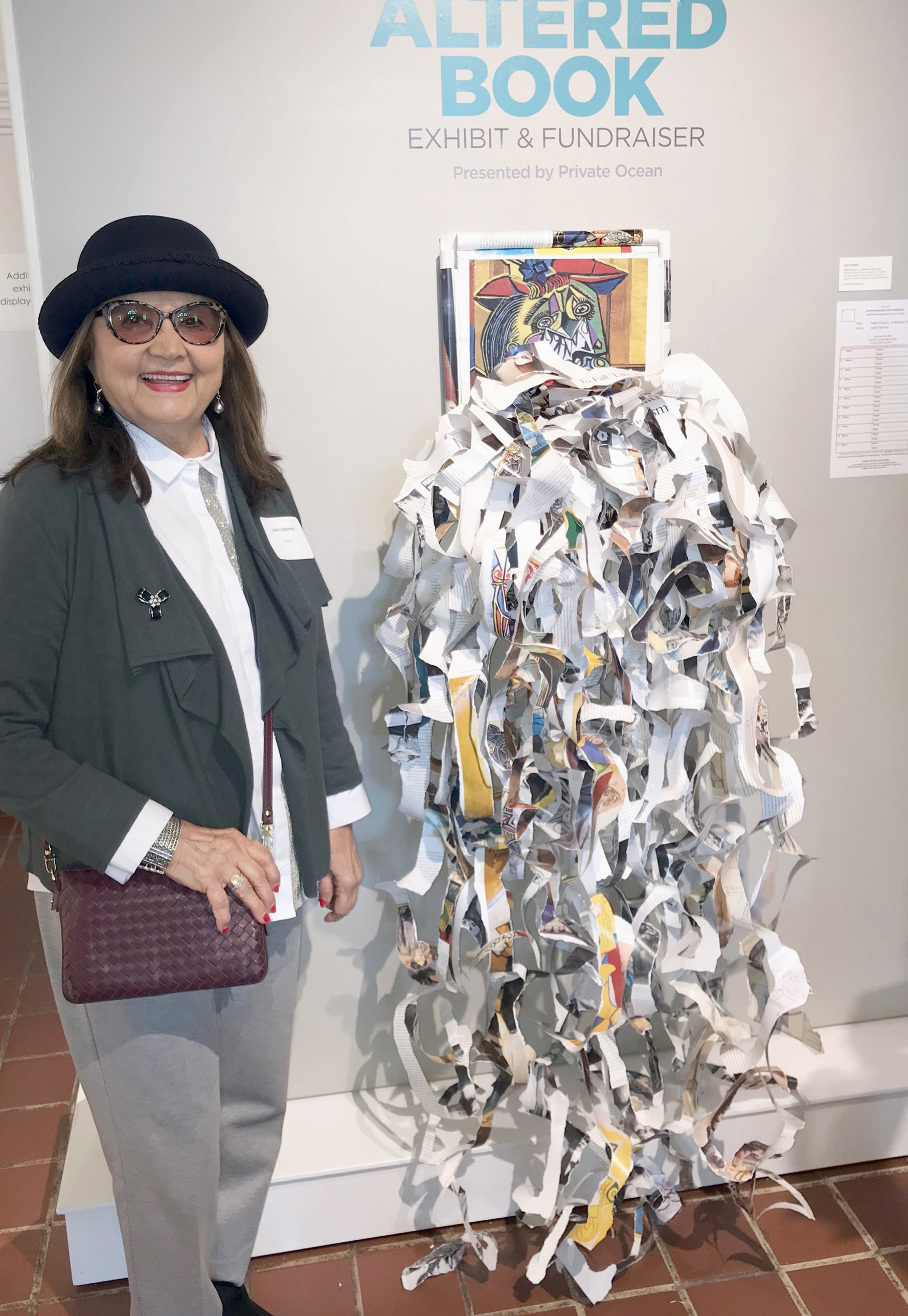 atered book reception MMOCA- Jaleh by her entry.jpg