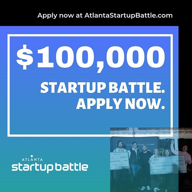 Wondering what Atlanta Startup Battle is?   It's a quarterly open-entry startup competition, hosted and held @techsquare, where the best early-stage tech startups compete for a $100,000 prize!   Last round over 500+ startups applied so don't miss your chance for greatness 💪  Last ASB saw two teams walk away with checks for $100K so apply today!! 🏆💰   Check out the website for more info...https://atlantastartupbattle.com/   Applications are open now!   For those wanting to get into tech and the Atlanta Startup ecosystem be sure to come out to network and watch the competition on Thursday October 17th   #atlantastartupbattle #startups #atltech #technology #buildsomethingfrom #startuplife .