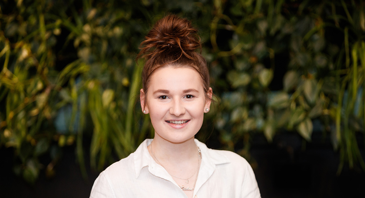 Grace Mainwaring, finalist in Innovate 2019 Competition.