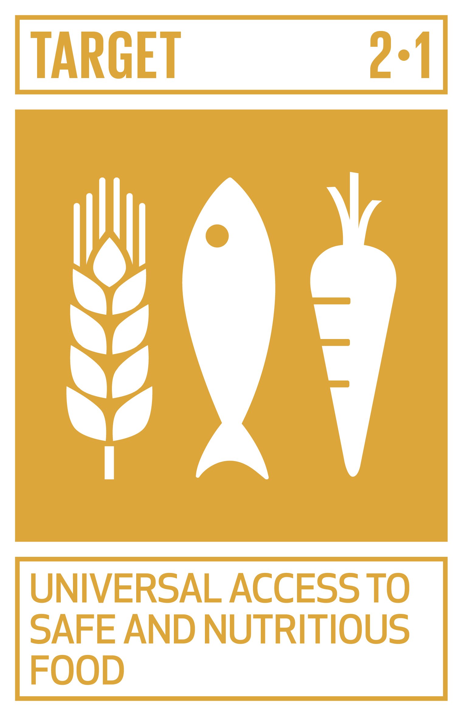 By 2030, end hunger and ensure access by all people, in particular the poor and people in vulnerable situations, including infants, to safe, nutritious and sufficient food all year round.   iNDICATORS    2.1.1  Prevalence of undernourishment   2.1.2  Prevalence of moderate or severe food insecurity in the population, based on the Food Insecurity Experience Scale (FIES) Prevalence of moderate or severe food insecurity in the population, based on the Food Insecurity Experience Scale (FIES)