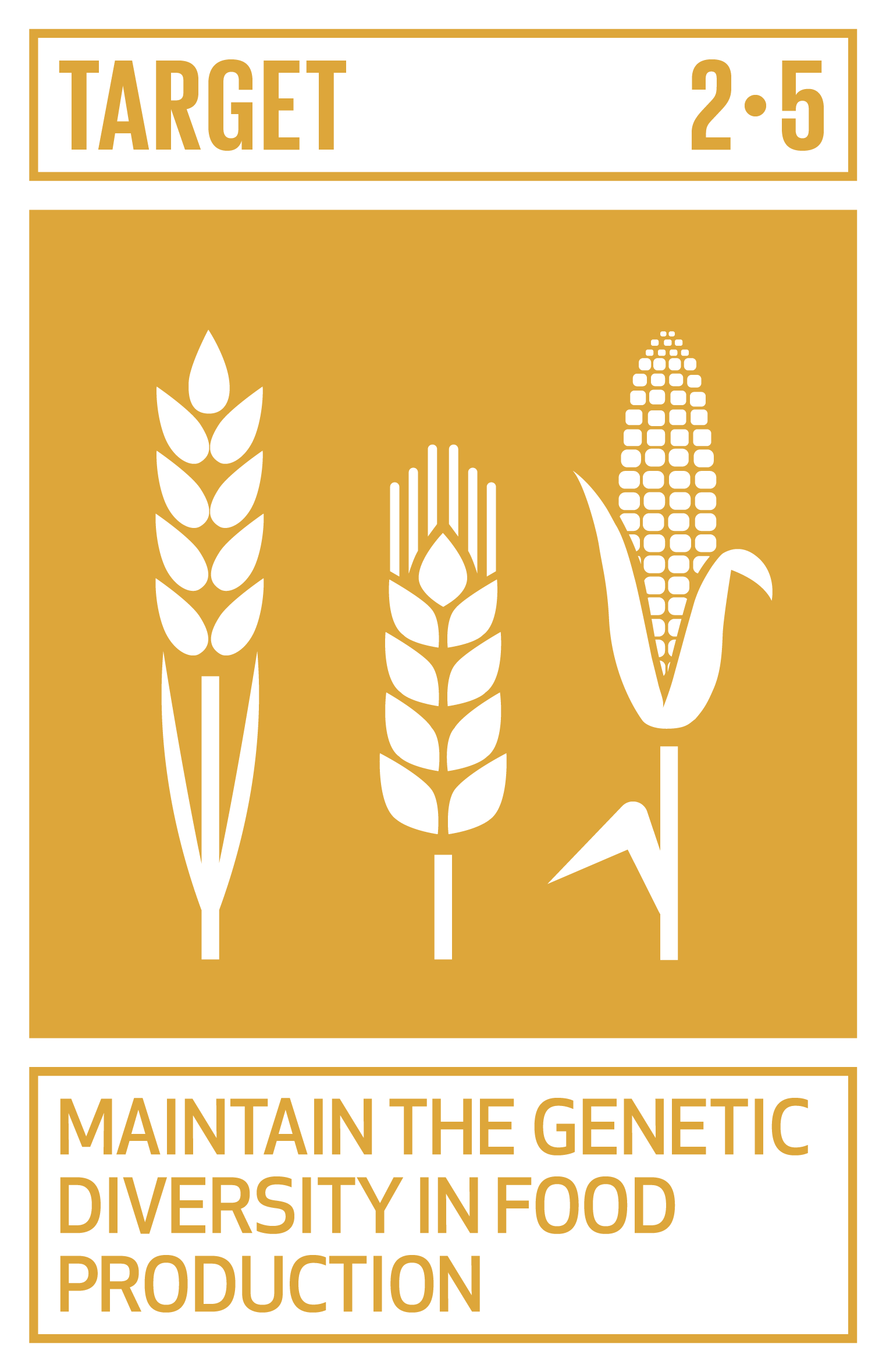 By 2020, maintain the genetic diversity of seeds, cultivated plants and farmed and domesticated animals and their related wild species, including through soundly managed and diversified seed and plant banks at the national, regional and international levels, and promote access to and fair and equitable sharing of benefits arising from the utilization of genetic resources and associated traditional knowledge, as internationally agreed.   INDICATORS    2.5.1  Number of plant and animal genetic resources for food and agriculture secured in either medium- or long-term conservation facilities   2.5.2  Proportion of local breeds classified as being at risk, not at risk or at unknown level of risk of extinction