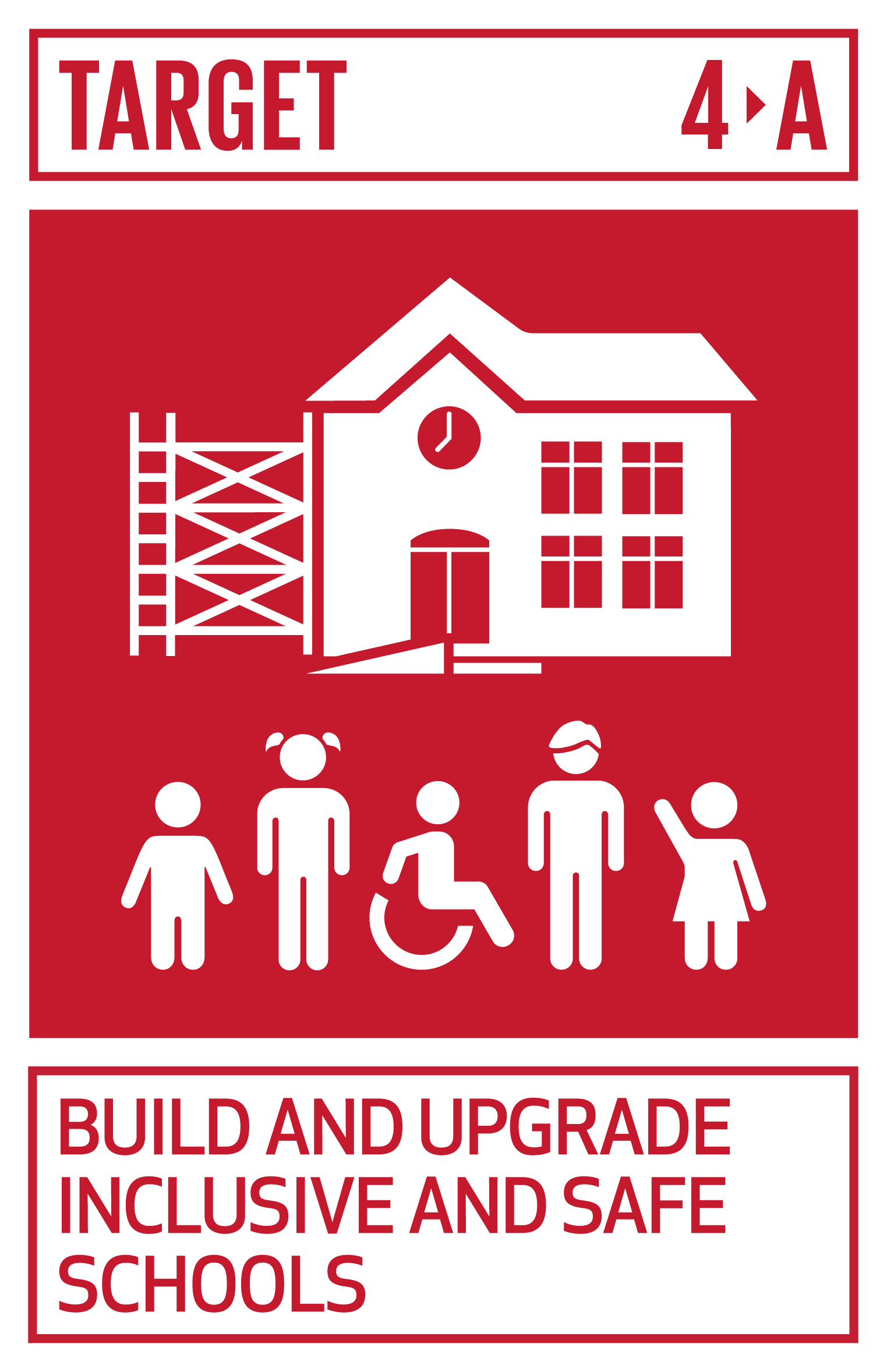 Build and upgrade education facilities that are child, disability and gender sensitive and provide safe, non-violent, inclusive and effective learning environments for all.   INDICATOR    4.a.1  Proportion of schools with access to (a) electricity; (b) the Internet for pedagogical purposes; (c) computers for pedagogical purposes; (d) adapted infrastructure and materials for students with disabilities; (e) basic drinking water; (f) single-sex basic sanitation facilities; and (g) basic handwashing facilities (as per the WASH indicator definitions)