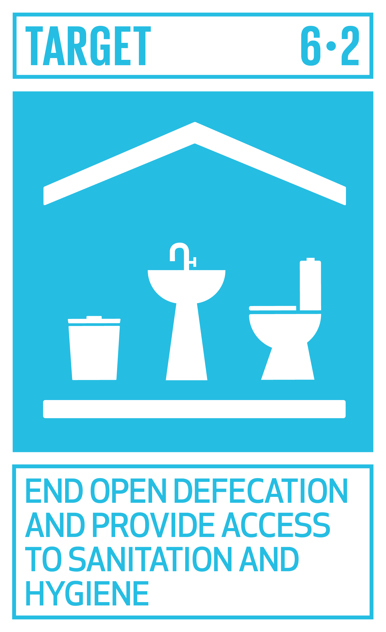 By 2030, achieve access to adequate and equitable sanitation and hygiene for all and end open defecation, paying special attention to the needs of women and girls and those in vulnerable situations.   INDICATOR    6.2.1  Proportion of population using safely managed sanitation services, including a hand-washing facility with soap and water