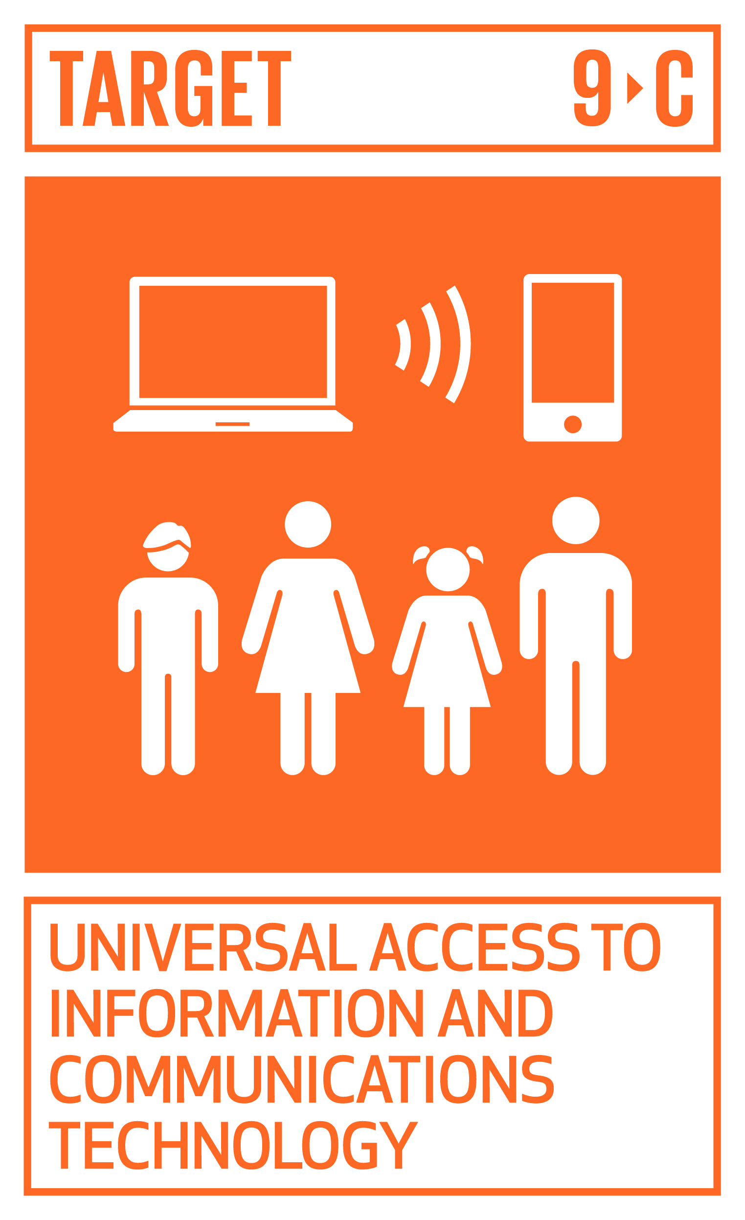 Significantly increase access to information and communications technology and strive to provide universal and affordable access to the Internet in least developed countries by 2020.   INDICATOR    9.c.1  Proportion of population covered by a mobile network, by technology
