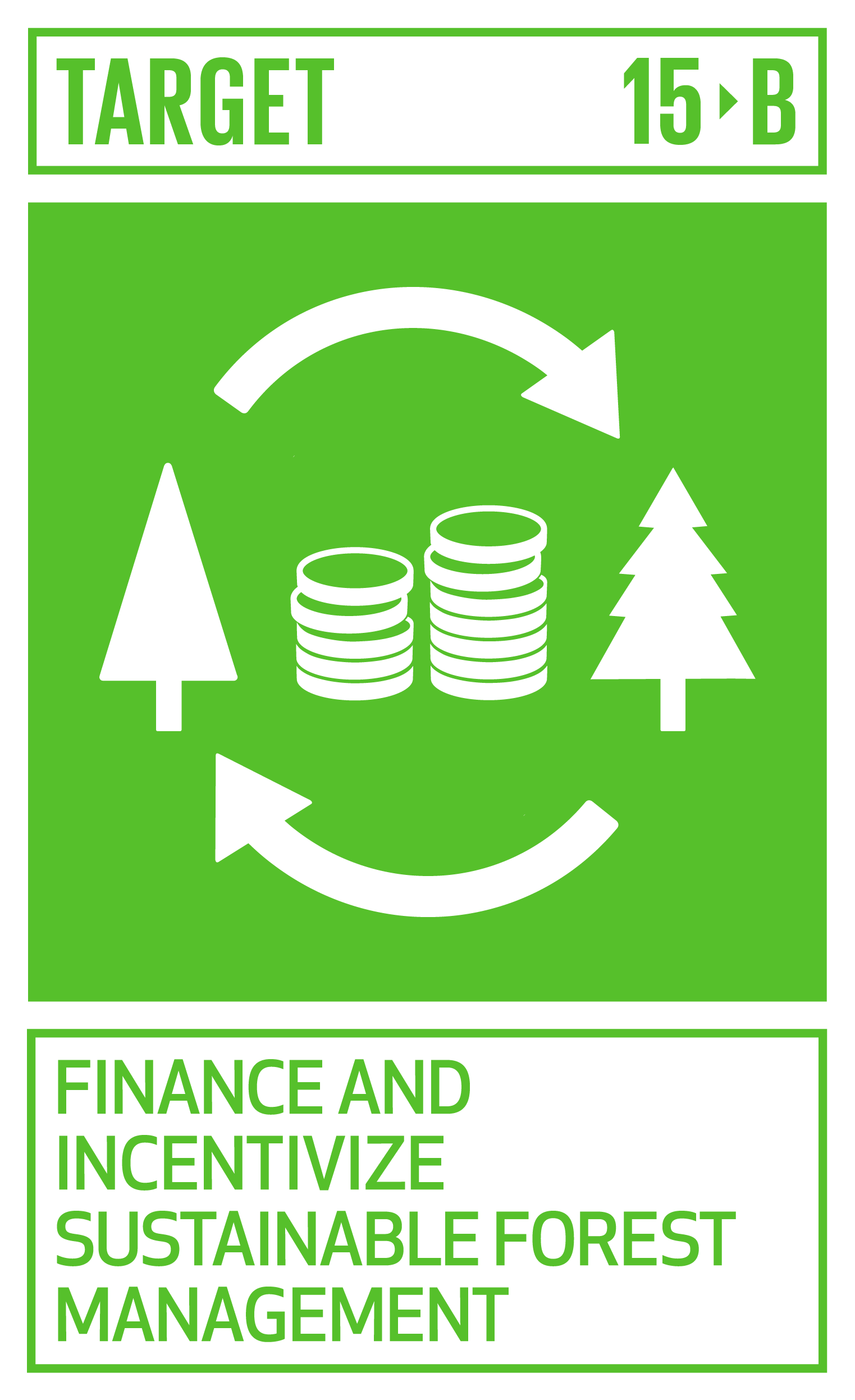 Mobilize significant resources from all sources and at all levels to finance sustainable forest management and provide adequate incentives to developing countries to advance such management, including for conservation and reforestation.   INDICATOR    15.b.1  Official development assistance and public expenditure on conservation and sustainable use of biodiversity and ecosystems
