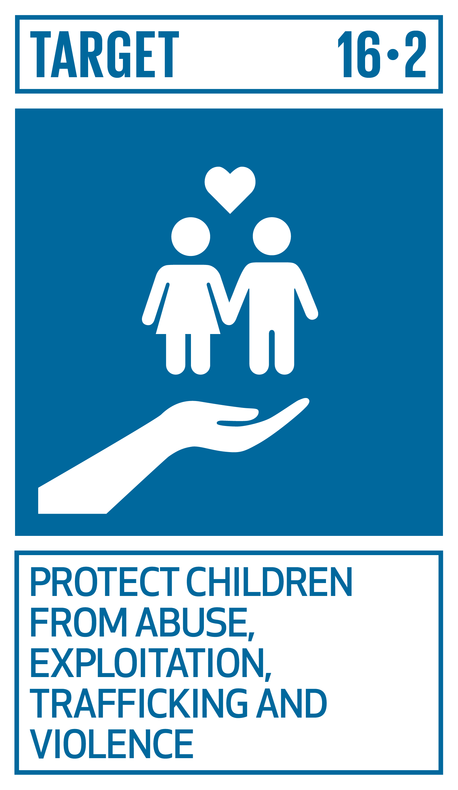 End abuse, exploitation, trafficking and all forms of violence against and torture of children.   INDICATORS    16.2.1  Proportion of children aged 1–17 years who experienced any physical punishment and/or psychological aggression by caregivers in the past month   16.2.2  Number of victims of human trafficking per 100,000 population, by sex, age and form of exploitation   16.2.3  Proportion of young women and men aged 18–29 years who experienced sexual violence by age 18