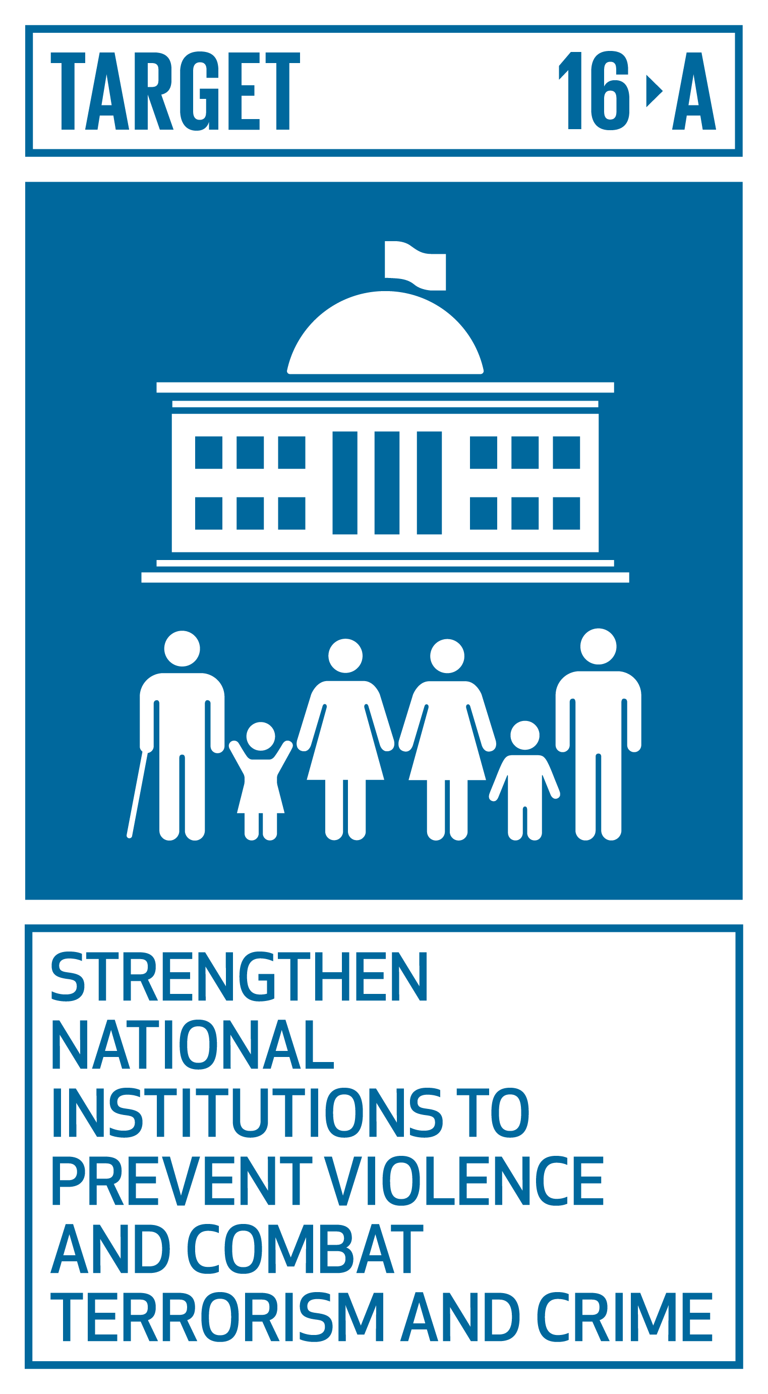 Strengthen relevant national institutions, including through international cooperation, for building capacity at all levels, in particular in developing countries, to prevent violence and combat terrorism and crime.   INDICATORS    16.a.1  Existence of independent national human rights institutions in compliance with the Paris Principles