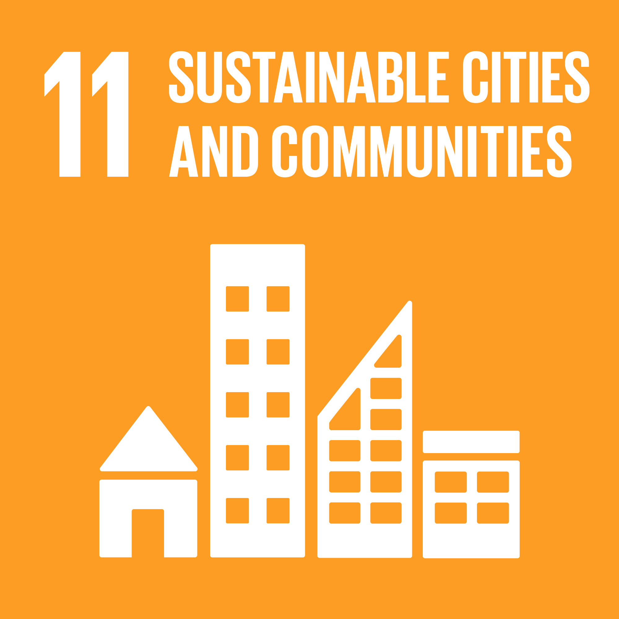 Goal 11. Make cities and human settlements inclusive, safe, resilient and sustainable    10 Targets    15 Indicators