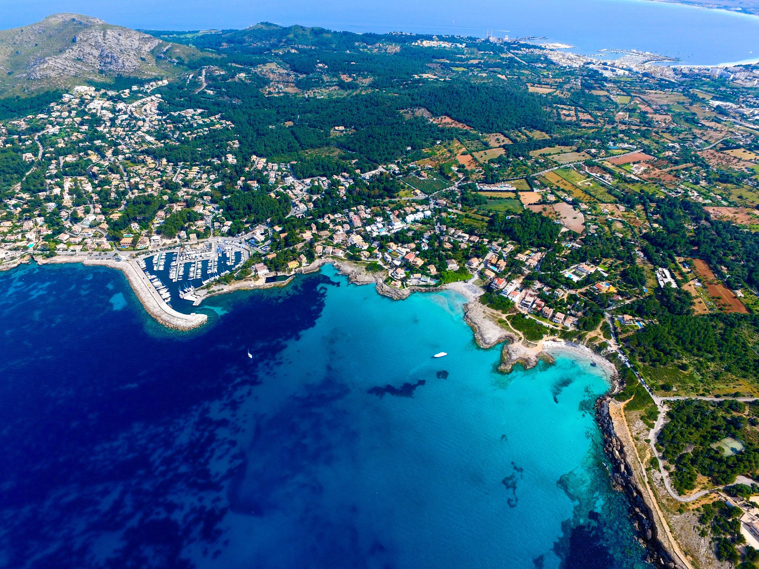Photo of Mallorca via  Unsplash . @whereisfarid