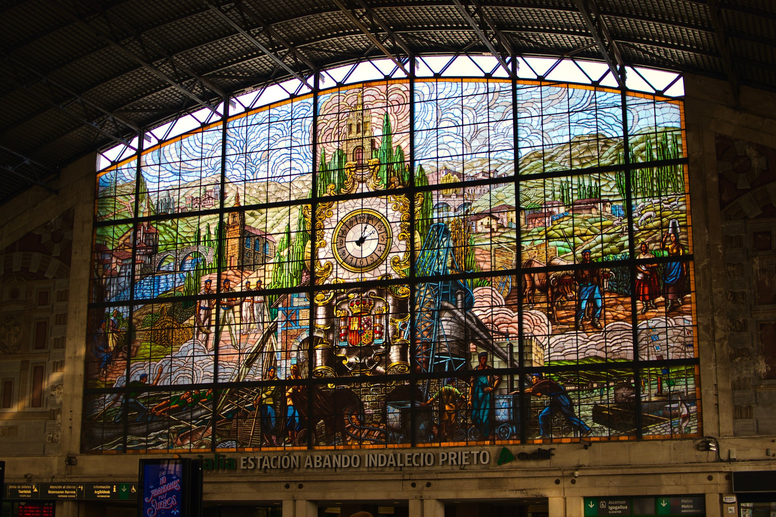 Train Station Bilbao Abando