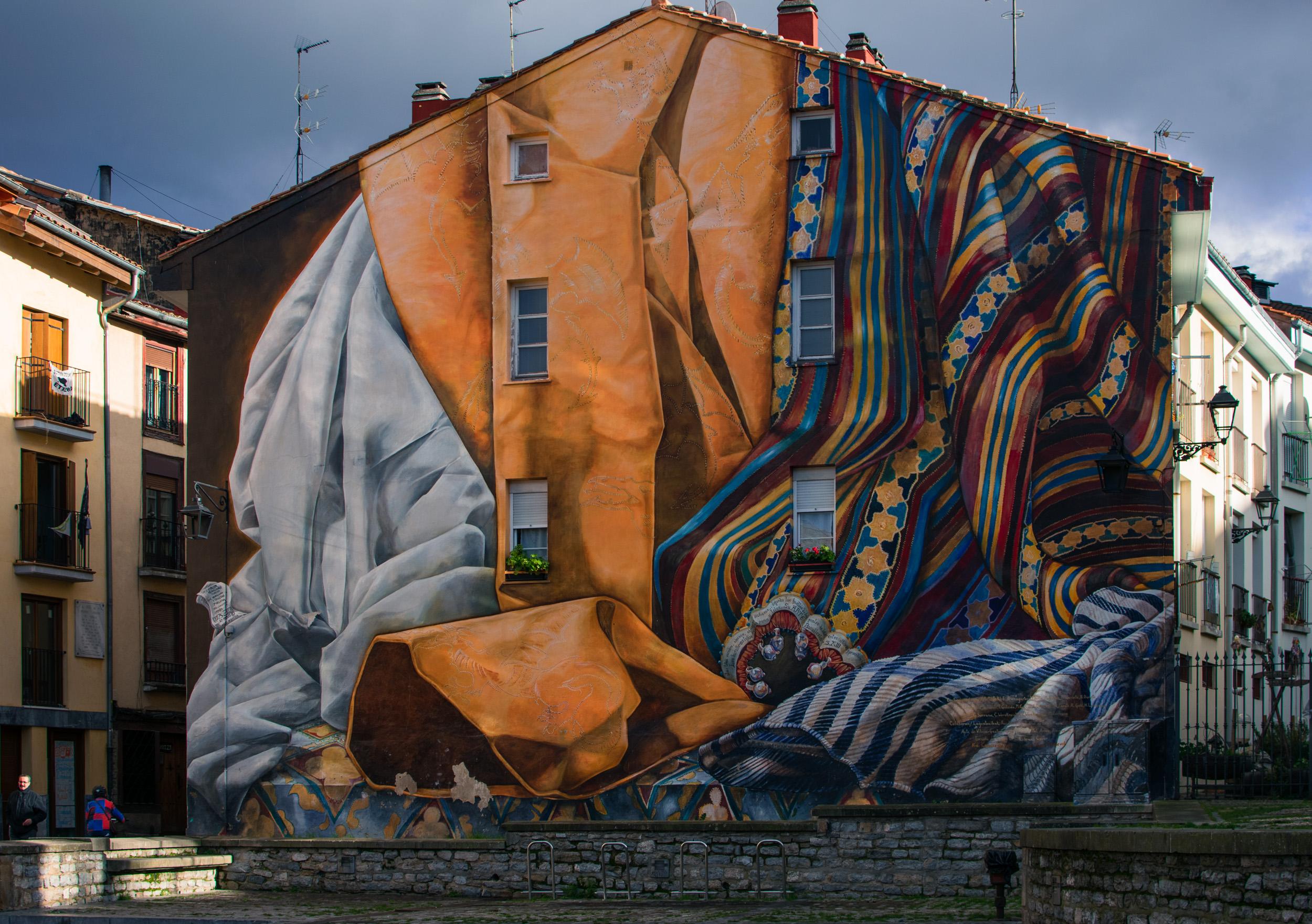Murals in Vitoria