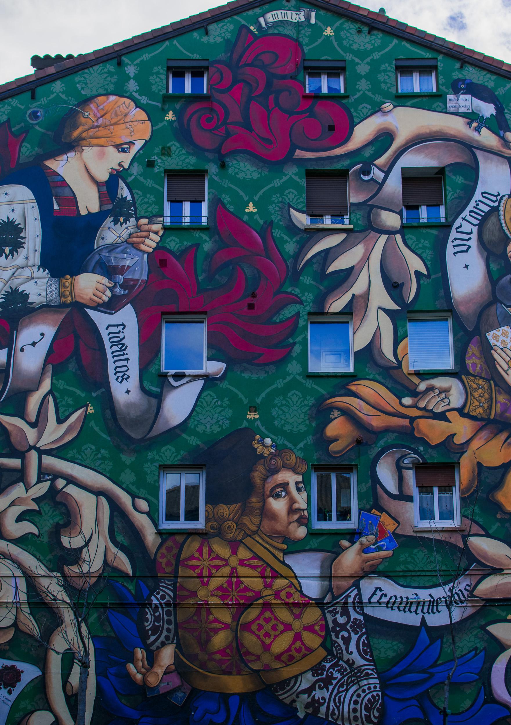 Mural in Vitoria