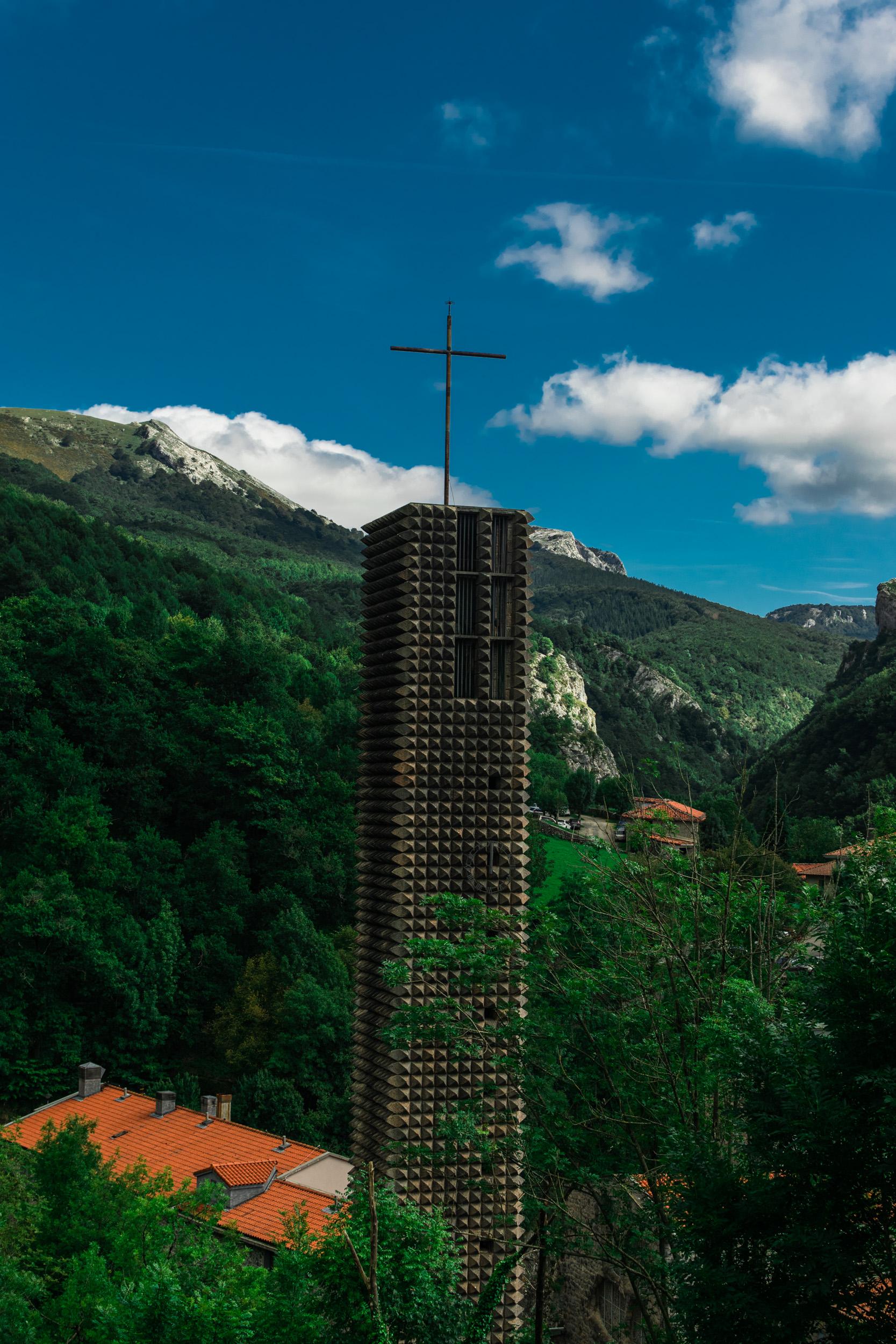 cross of Sanctuary of Arantzazu