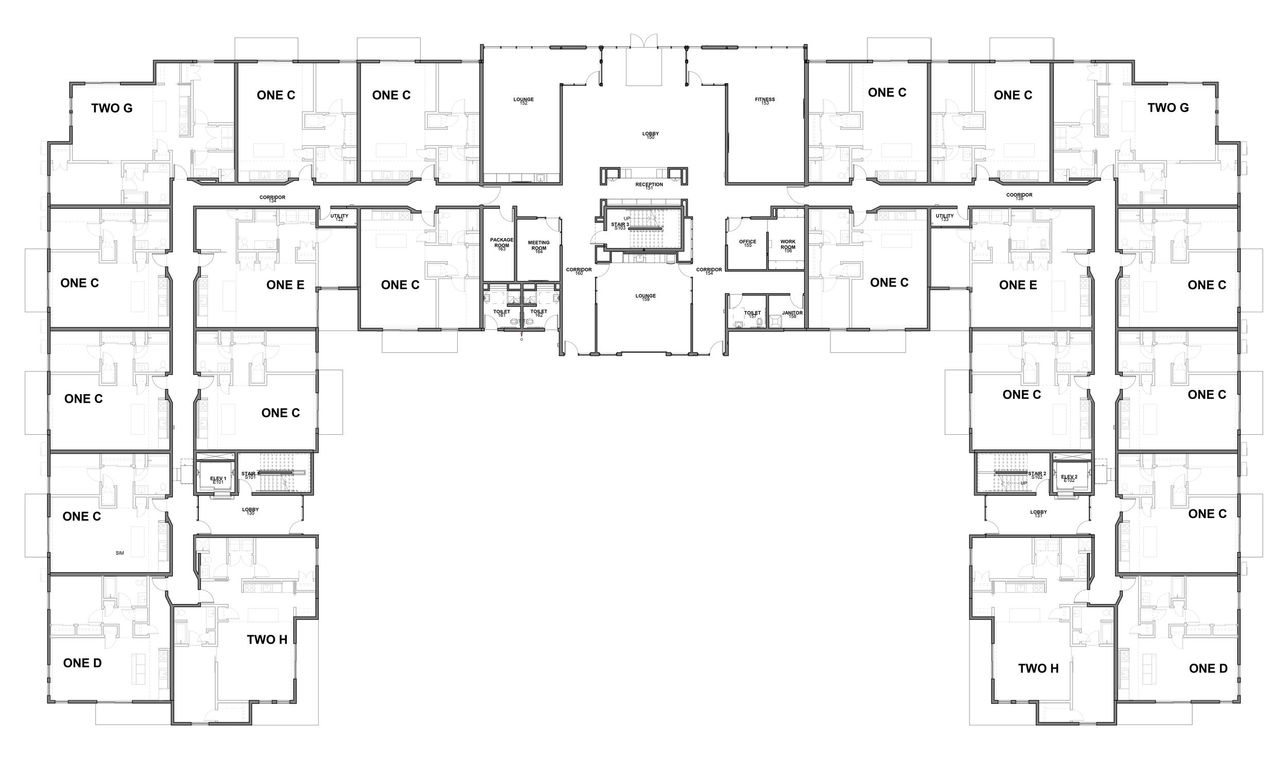 1st floor -