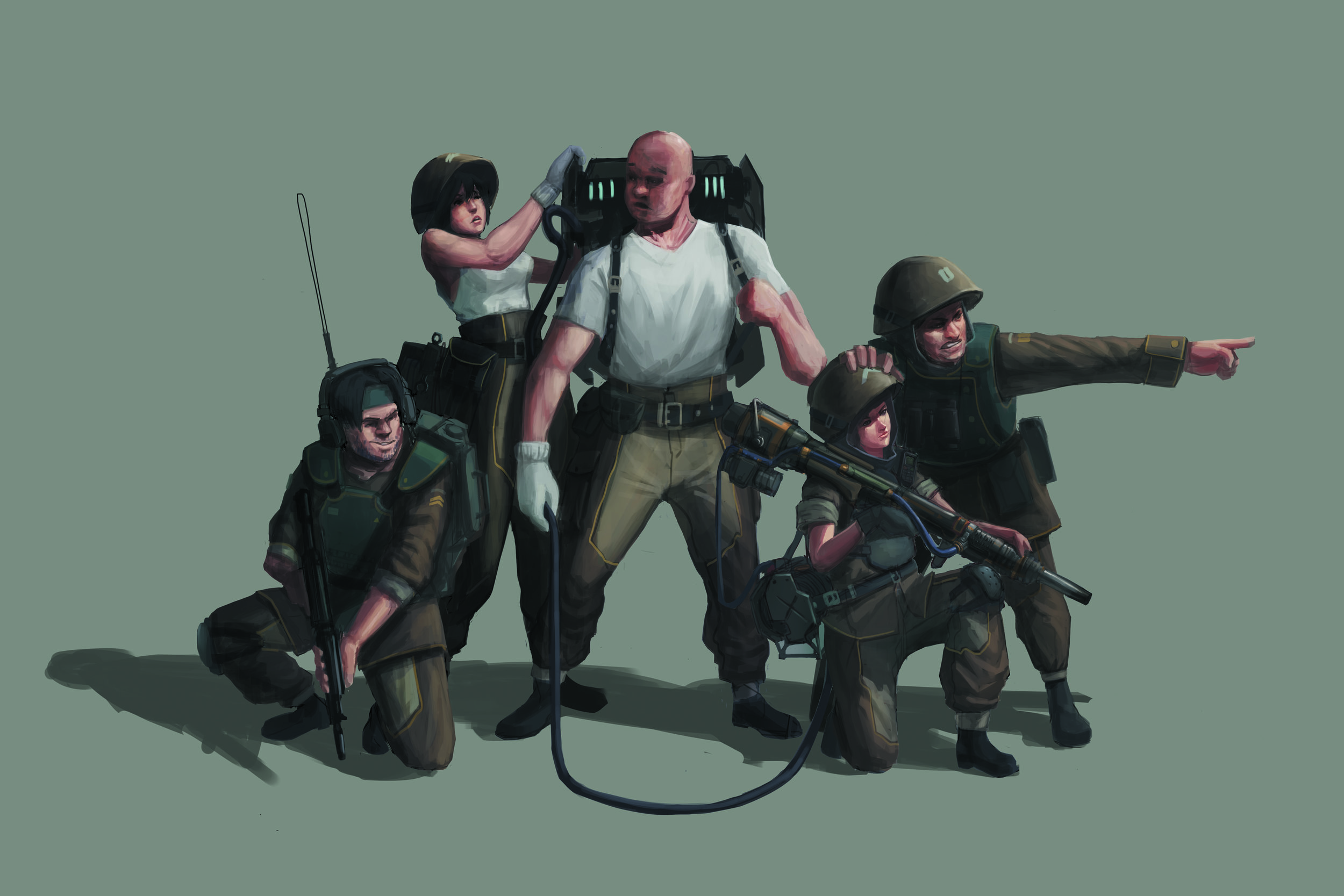 Railgun Squad | Yang Hu | Yanghudesign@gmail.com | 626-316-9992