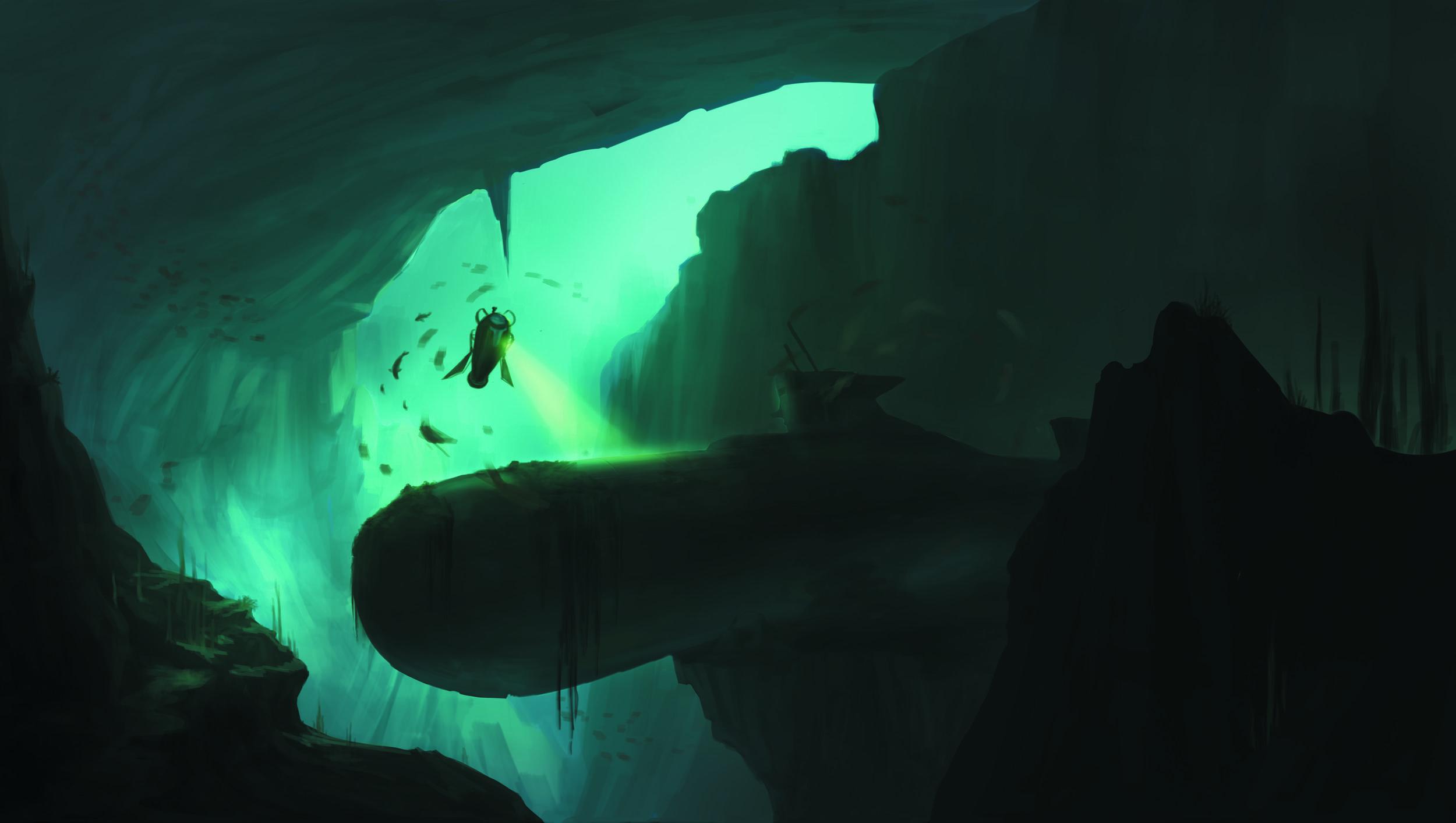 Underwater Explorer | Yang Hu | Yanghudesign@gmail.com | 626-316-9992