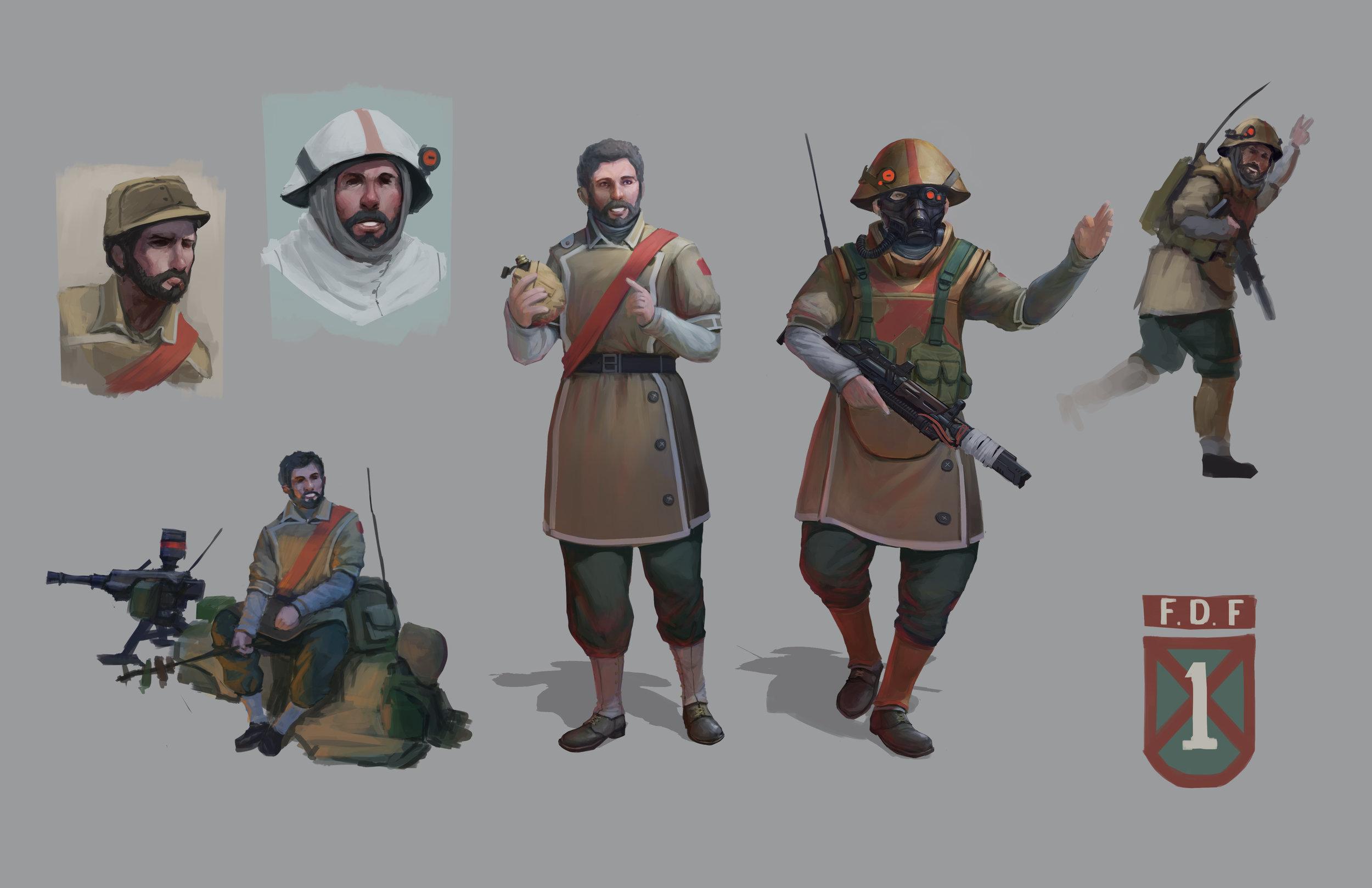 Sgt. Sarmic | Yang Hu | yanghudesign@gmail.com | 626-316-9992