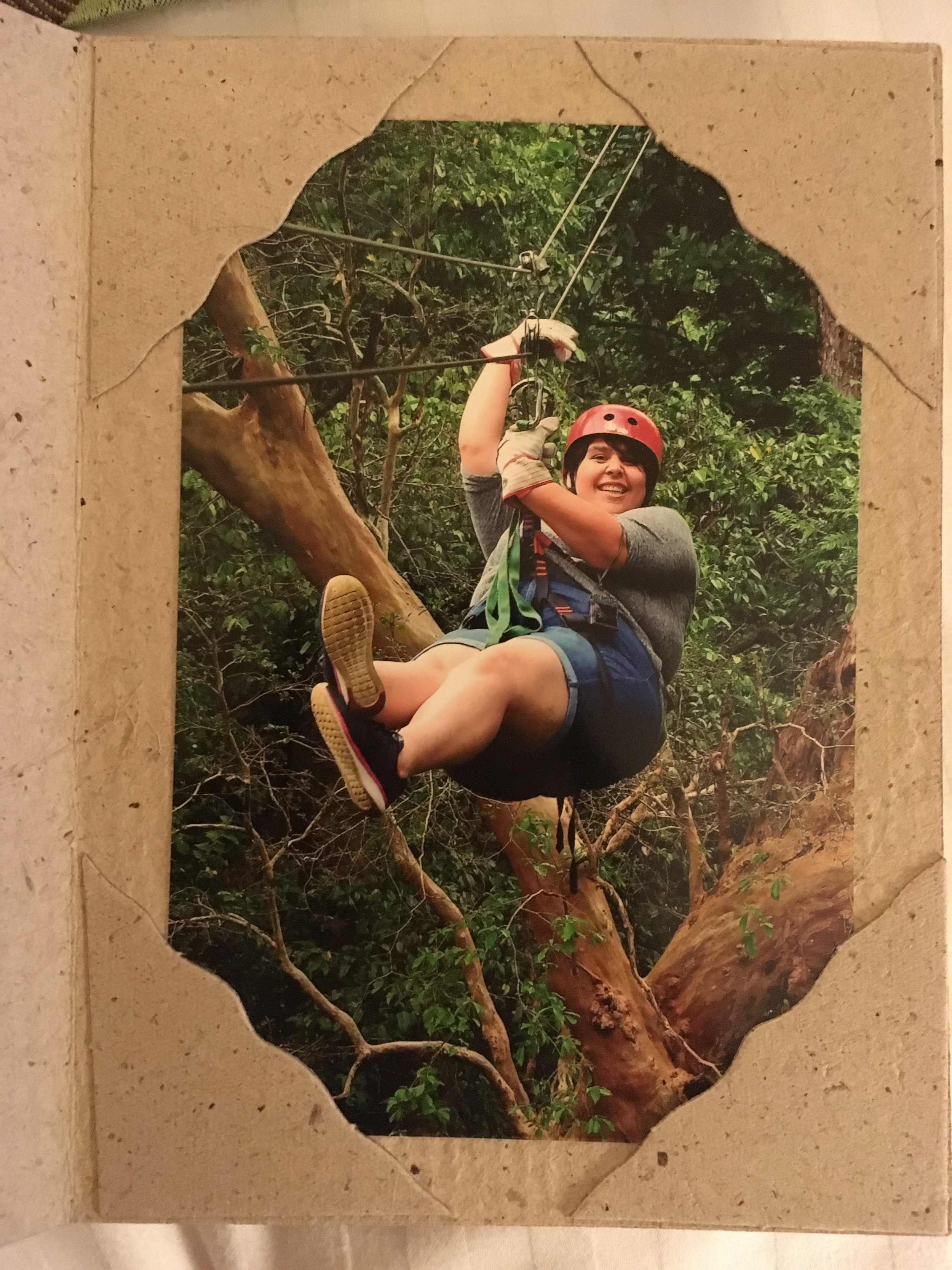 Zip-lining through the rain forest? YES PLEASE