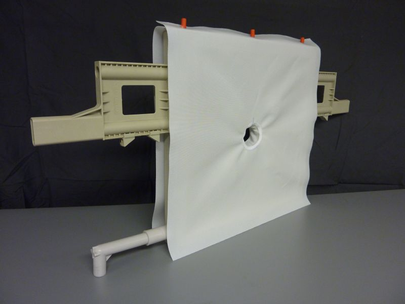 Filter Press Cloth Mounted