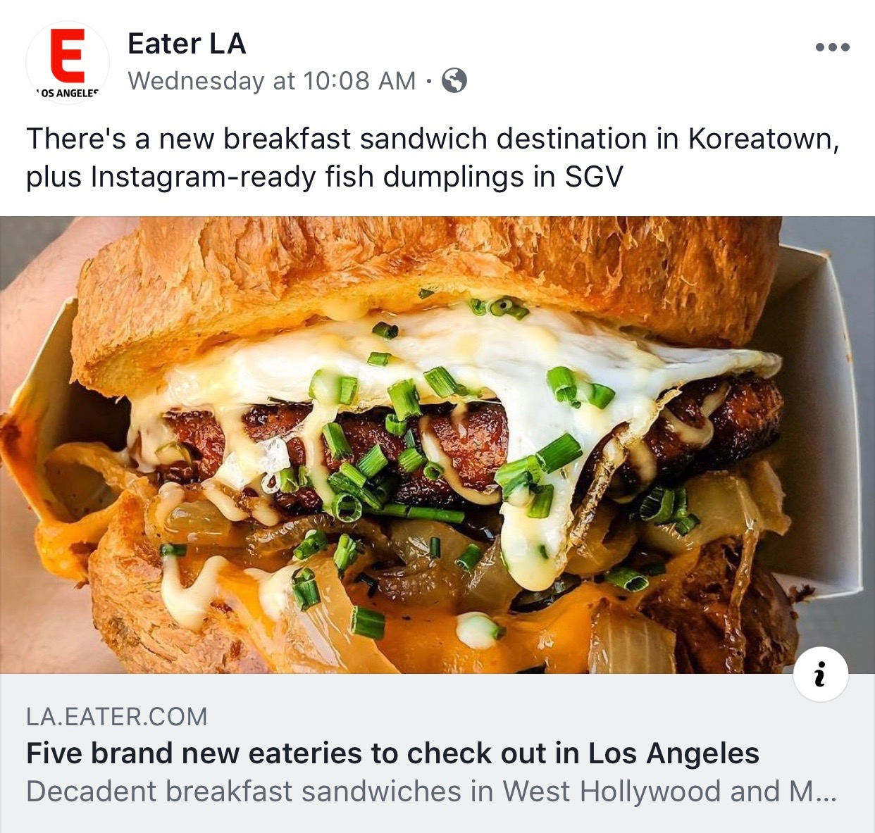 EATER LA  - NOTEWORTHY RESTAURANT OPENINGS THROUGHOUT LOS ANGELES