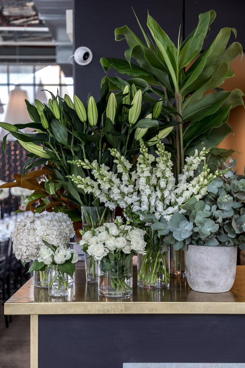 Floral arrangement at ALTO Event Space Melbourne