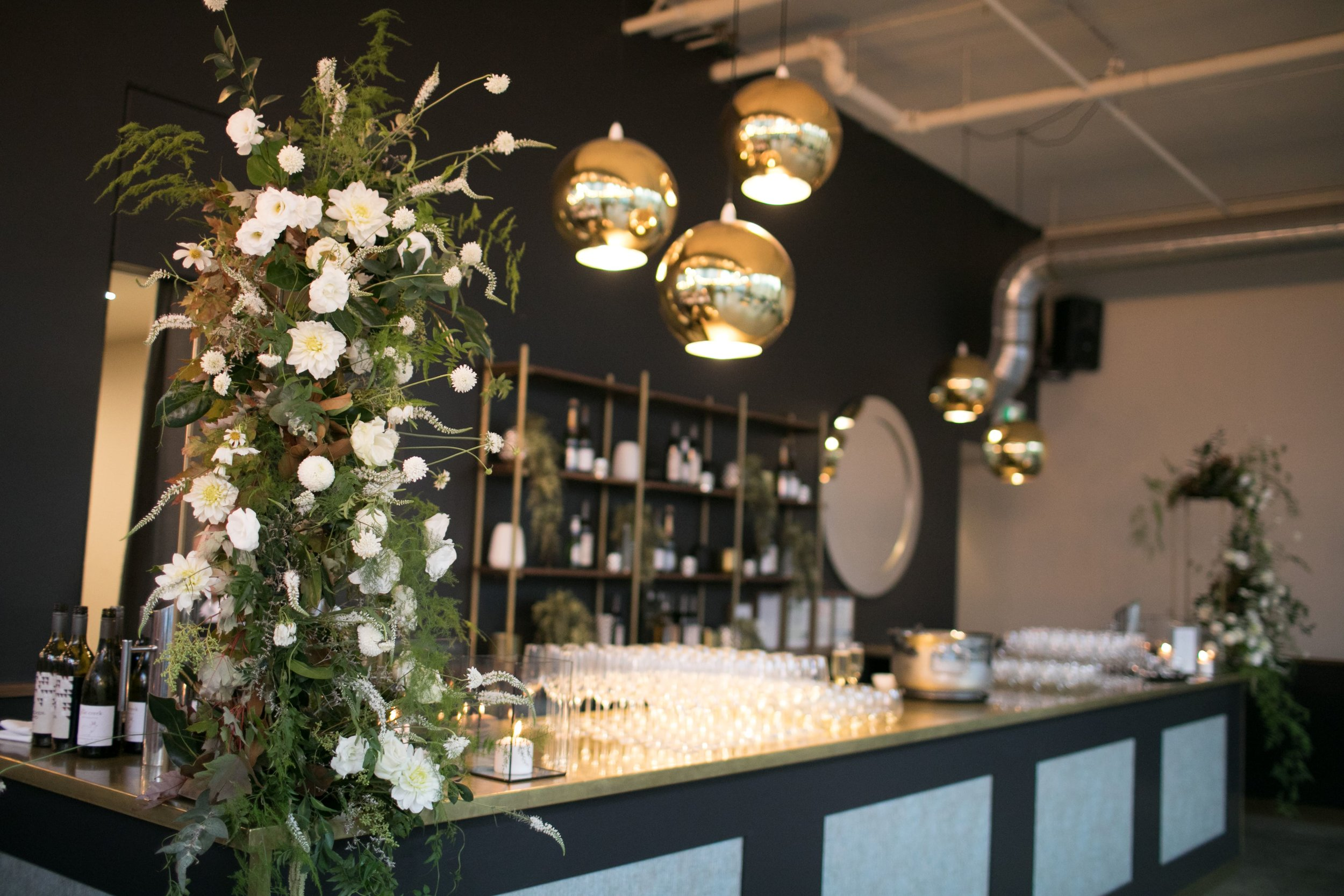 The bar at Melbourne Events and Function Venue ALTO Event Space