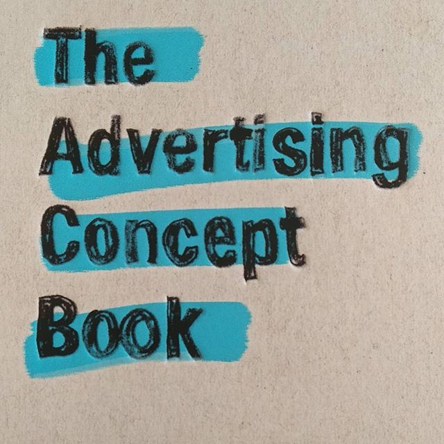 End summer reads. The Advertising Concept Book by Pete Barry. #ad #advertising #strategy