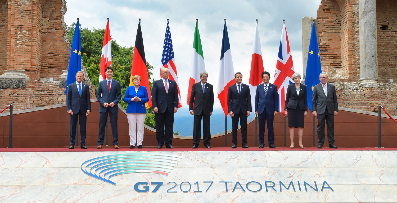 G7 2017 Leaders Meeting,   TAORMINA ,  ITALY