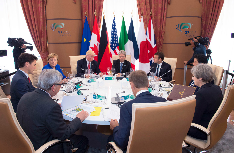 G7 Summit,   TAORMINA ,  ITALY