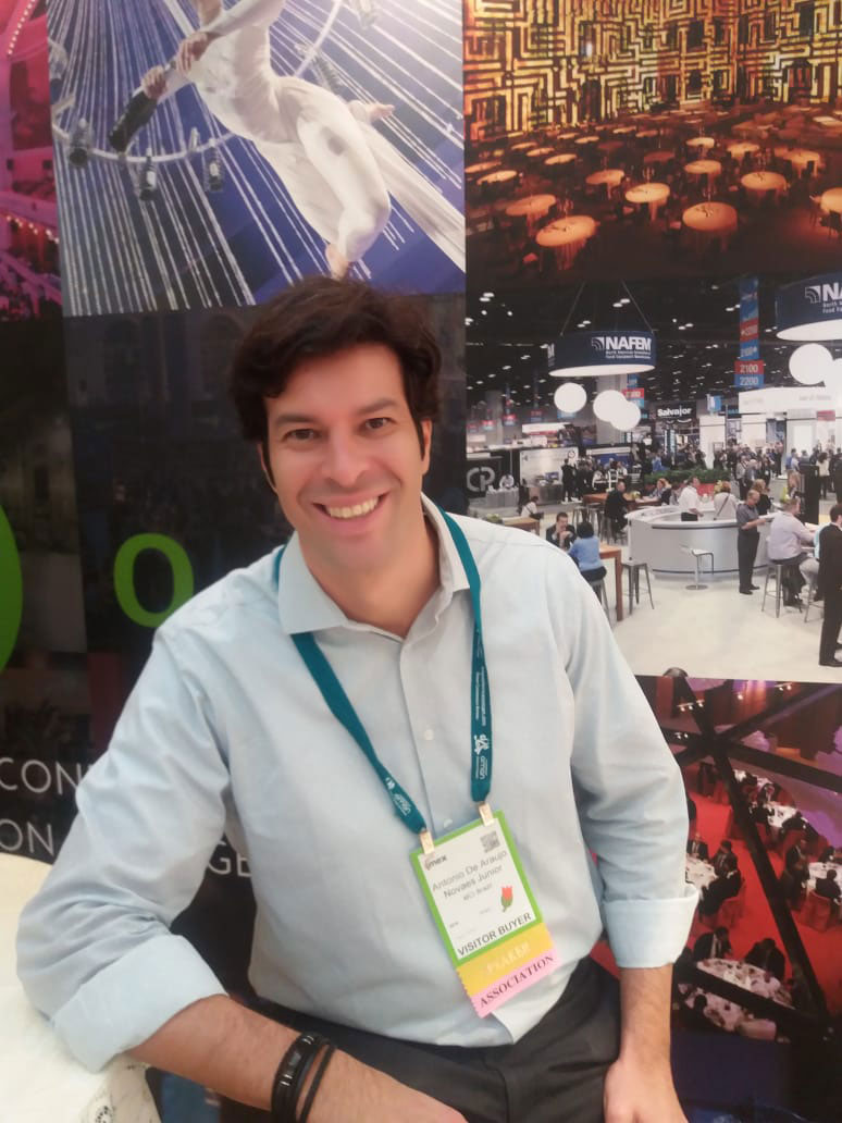 Antonio Novaes , Asset Development Director / Diretor Geral da Campus Party Brasil  MCI Brazil