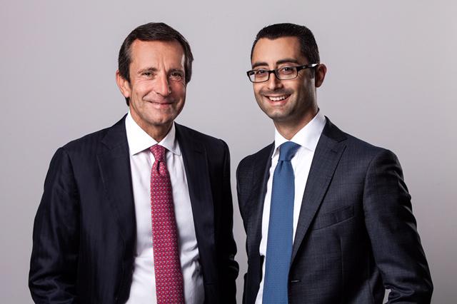 From left: Gianluca Buongiorno & Gianluca Scavo