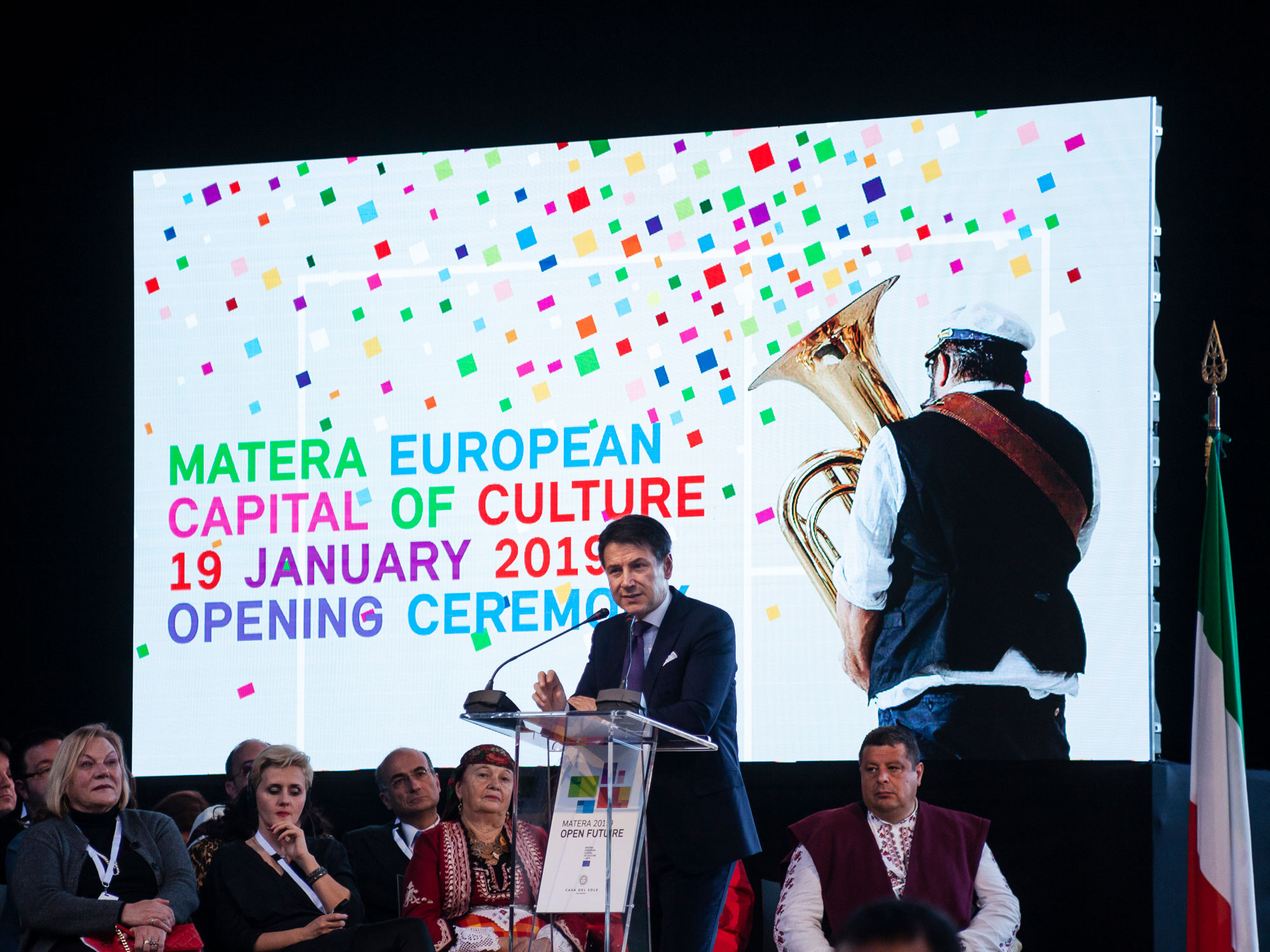 European Capital of Culture 2019 Opening Ceremony |   MATERA ,  ITALY