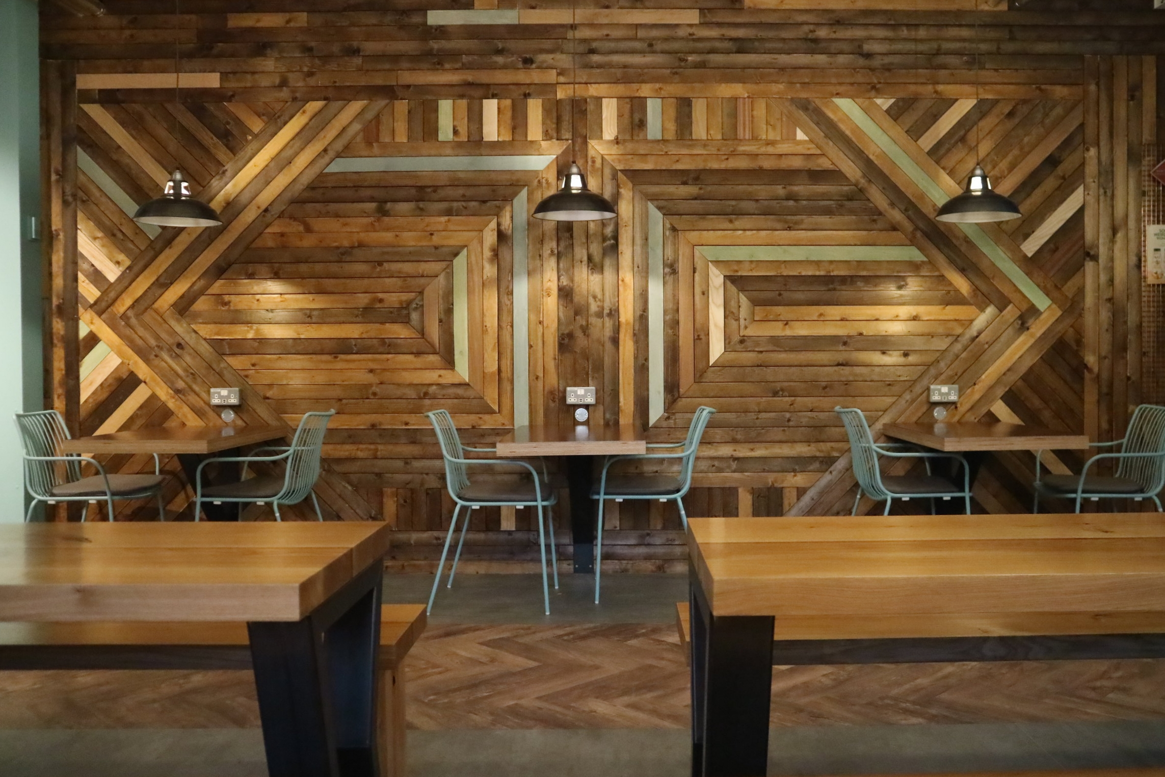 The Shack Feature Wall