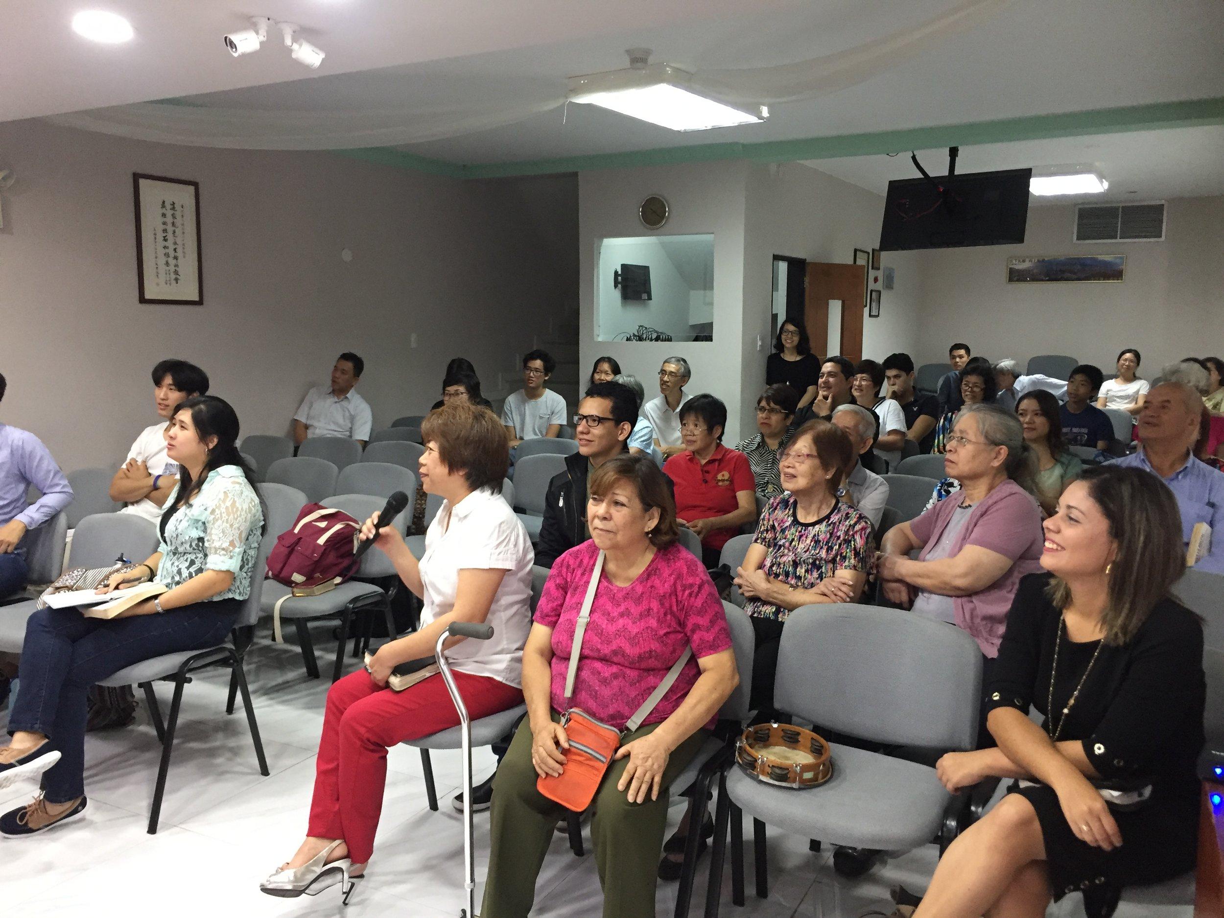 My home church, Iglesia Bautista China de Caracas