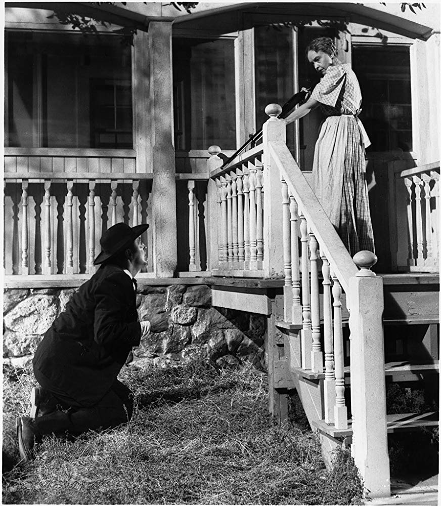 "Robert Mitchum and Lillian Gish in ""The Night of the Hunter"". © Metro-Goldwyn-Mayer Studios Inc. All Rights Reserved."