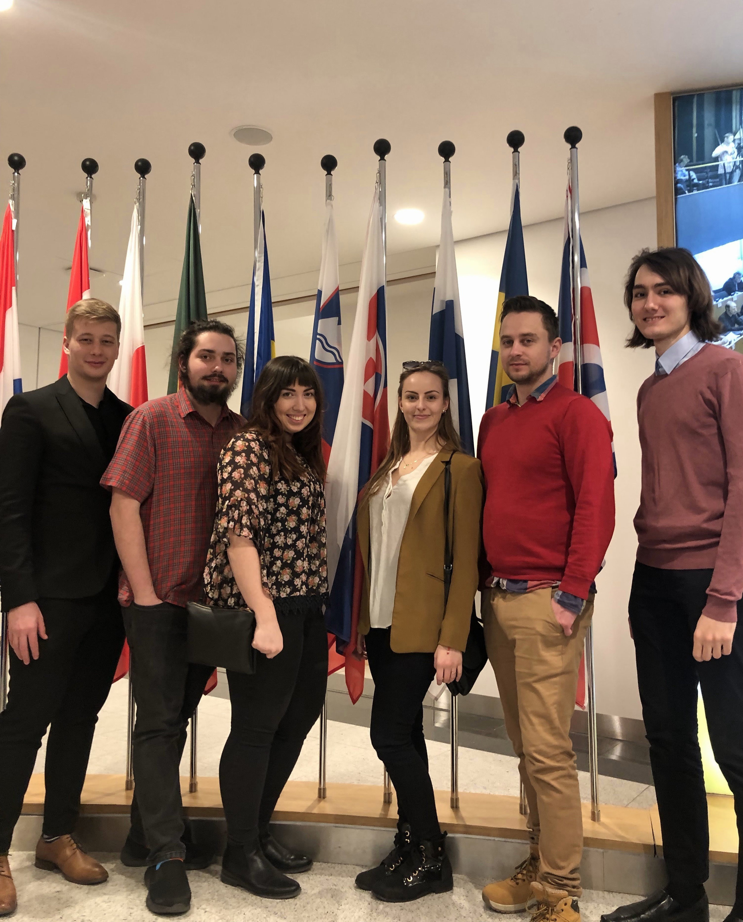 BISLA students at Brussels.