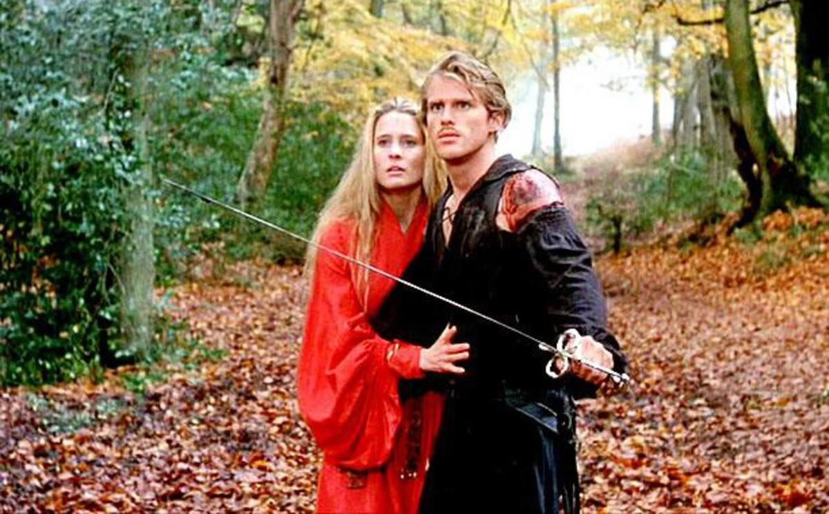 Cary Elwes  and  Robin Wright  in  The Princess Bride (1987)  . Photo source:  https://www.imdb.com/title/tt0093779/mediaviewer/rm4225180928