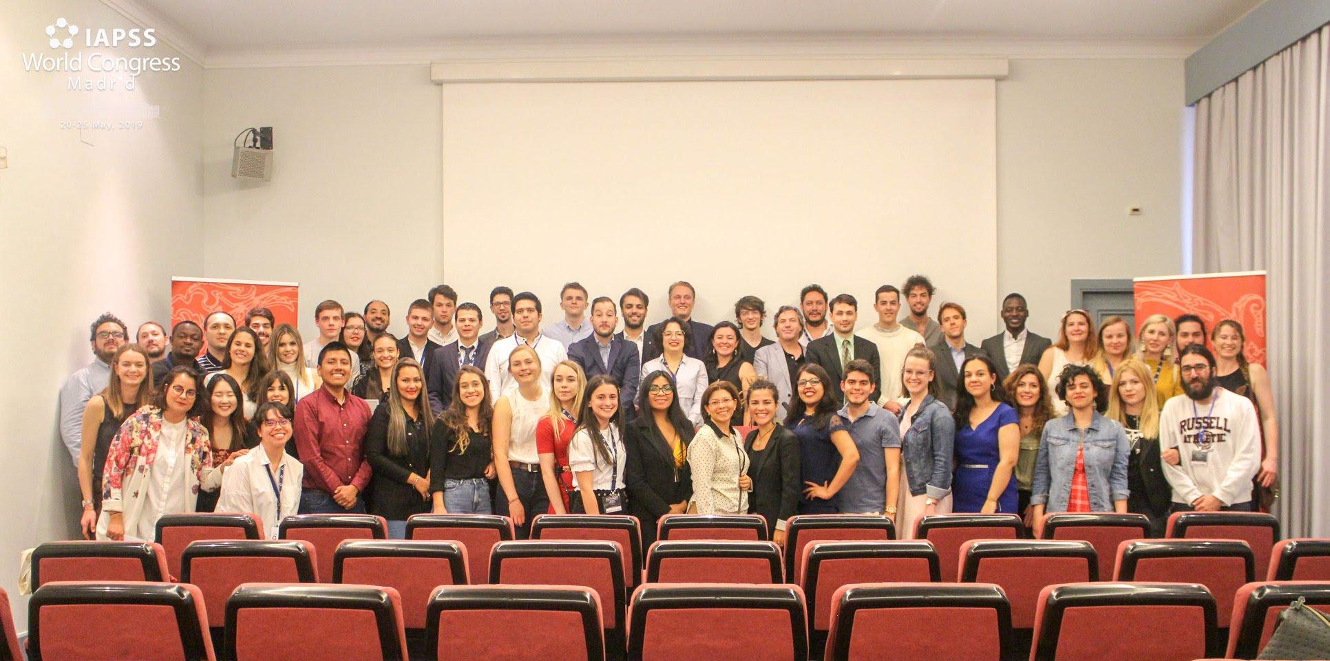 International Association of Political Science Students (IAPSS), with our students Dániel Cséfalvay and Matej Bílik.