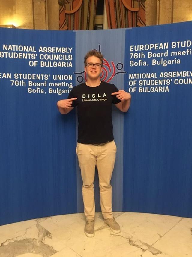 BISLA student  Dániel Cséfalvay