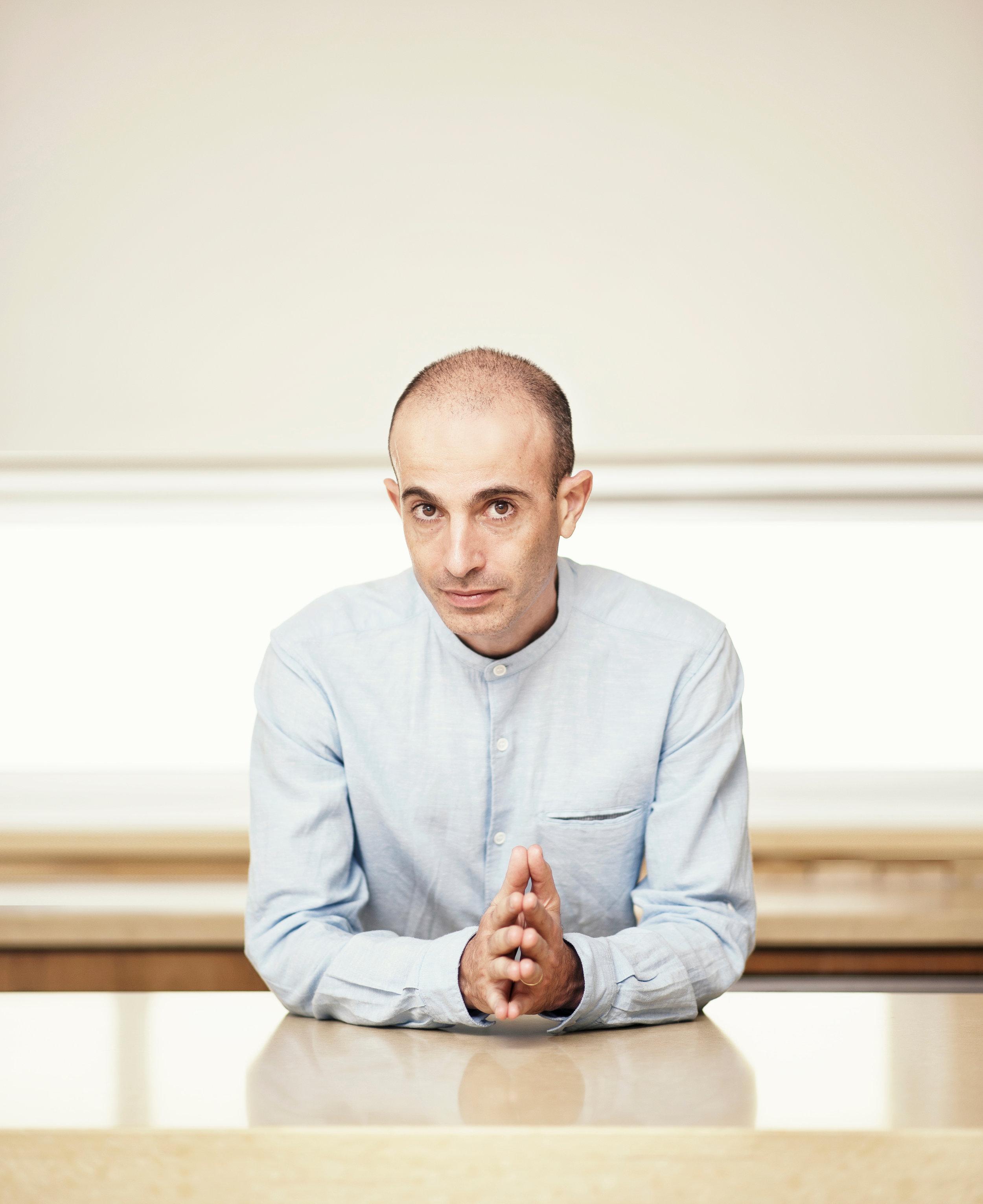 Prof. Yuval Noah Harari. Credit: Harari Team