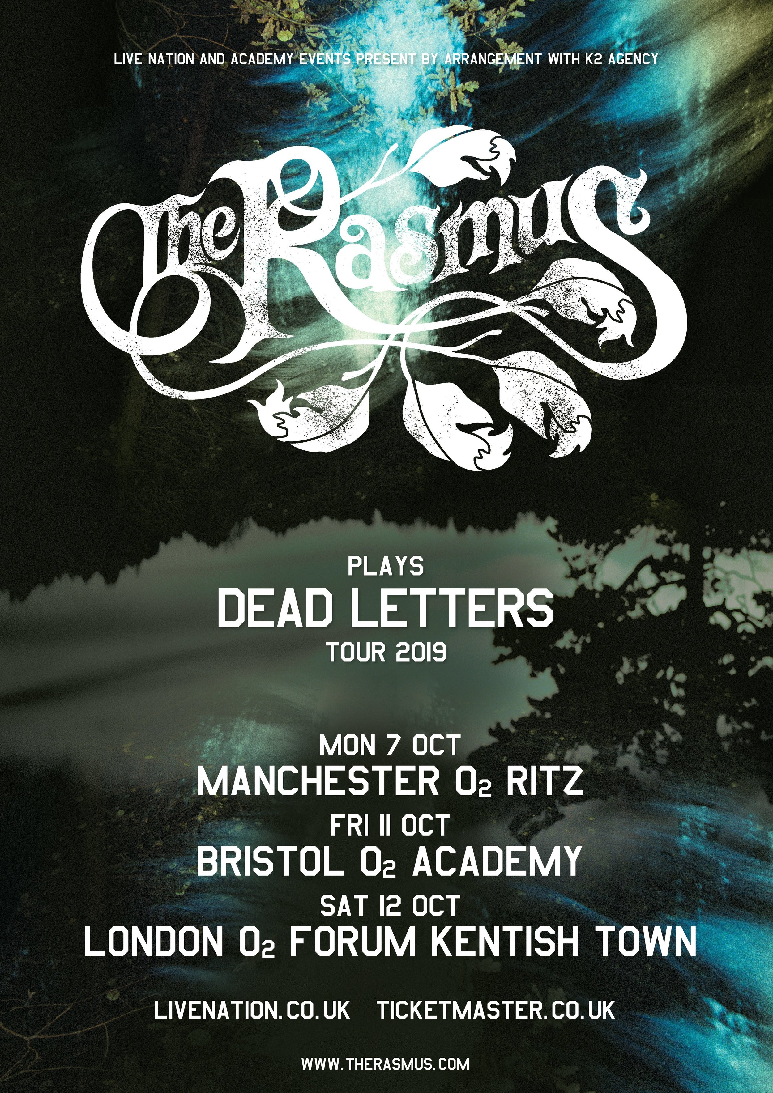 THE RASMUS return to the UK to play seminal Dead Letters