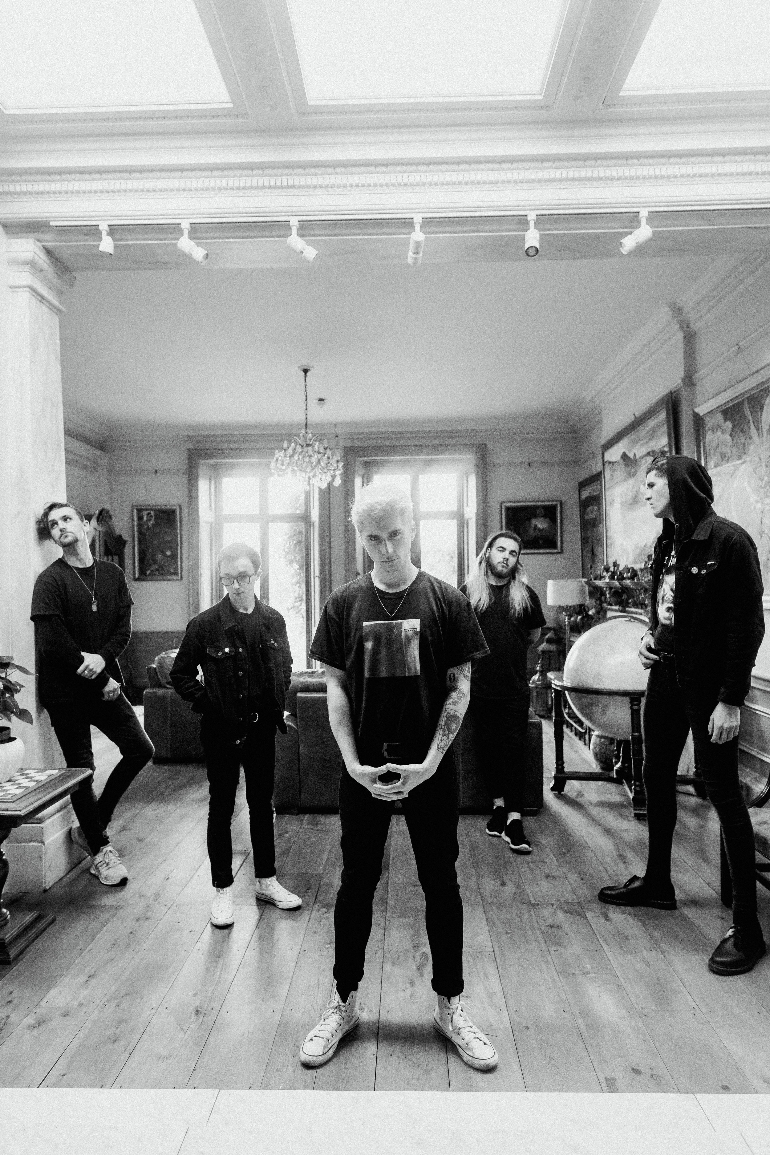 HOLDING ABSENCE Unveil brand new music video for 'Monochrome