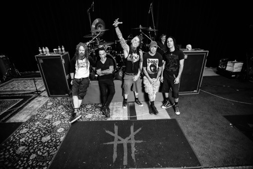 (Left to Right: Kyle Sanders, Roy Mayorga, Chad Gray, Tom Maxwell, Christian Brady)
