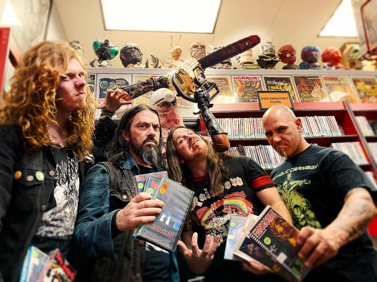 EXHUMED premiere NSFW 'Naked, Screaming, And Covered In