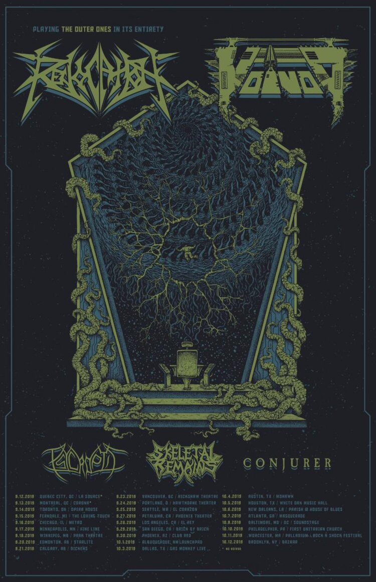 REVOCATION commence co-headline North American tour with