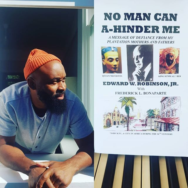 No Man can a-hinder me #stayblessed #humility #gratitude🙏 #spirituality #connection #nomancanhinderme #edwardwrobinson #wisdom #ifyouknowyouknow #fredericklbonaparte #timbuktu #africa #gogetit